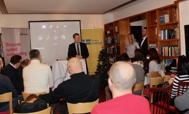 Bisnode Business Speed Networking and Lucia Celebrations