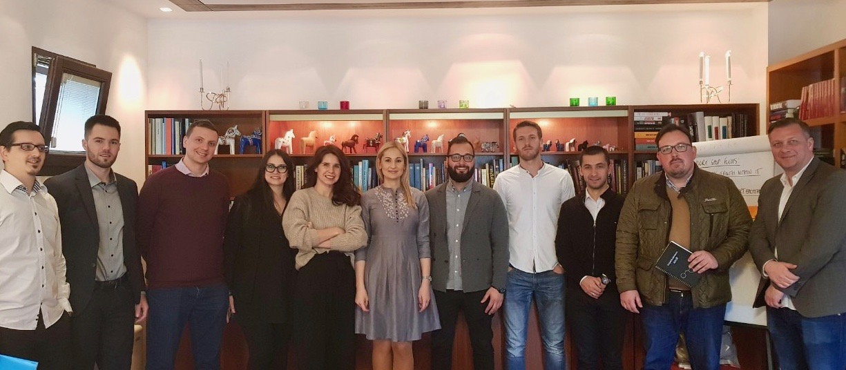 First Swedish-BH IT Cluster Gathering held at the Swedish Residence in Sarajevo
